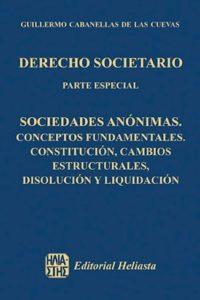 Derecho Societario - Parte Especial - - Cabanellas De Las Cuevas, Guil