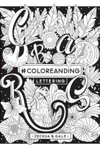 #Coloreanding Lettering - Gale,